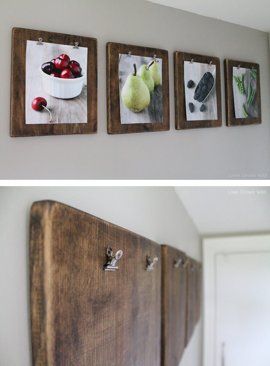 diy wall decorating lovely ideas kitchen decor luxury