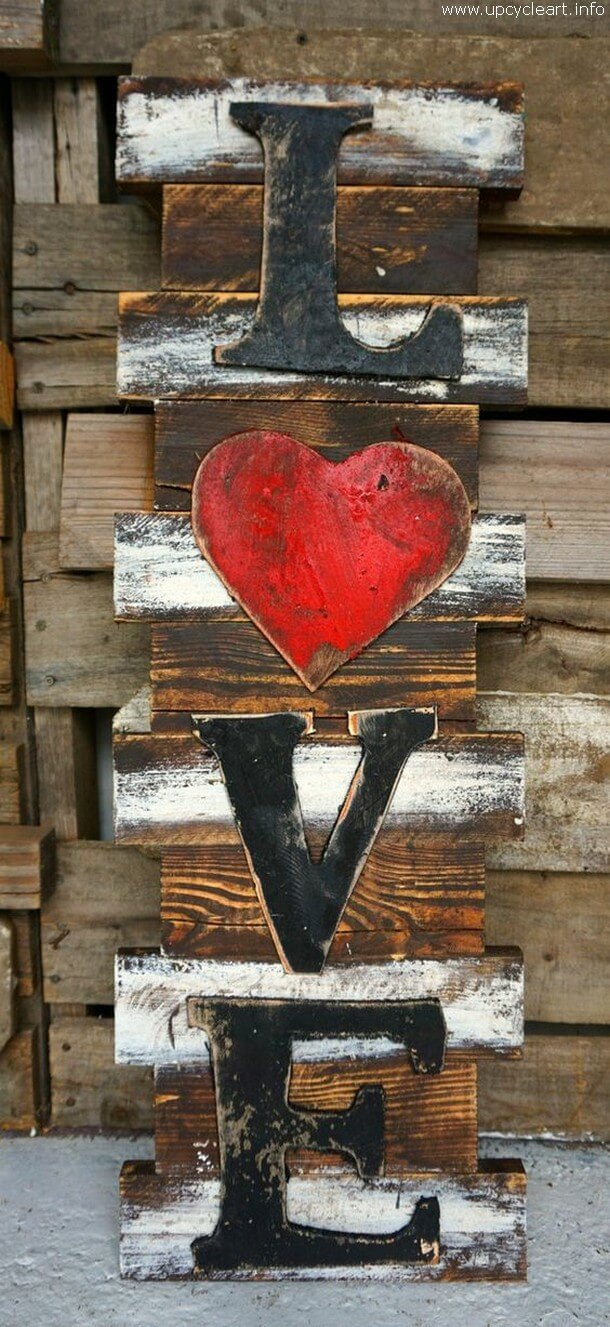 Black, White, Red and Rustic