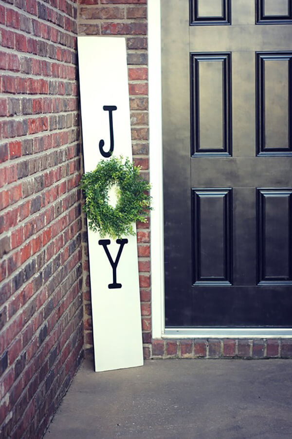 Bring on the Joy Home Entrance Sign