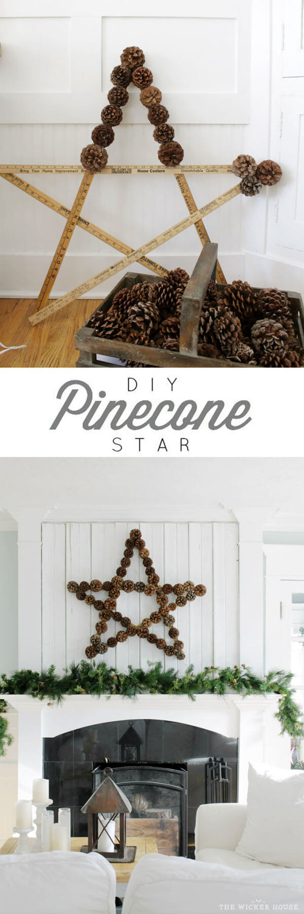 25 Best DIY Pine Cone Crafts (Ideas and Designs) for 2018