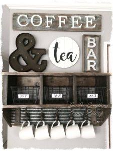 Diy Coffee And Tea Bar