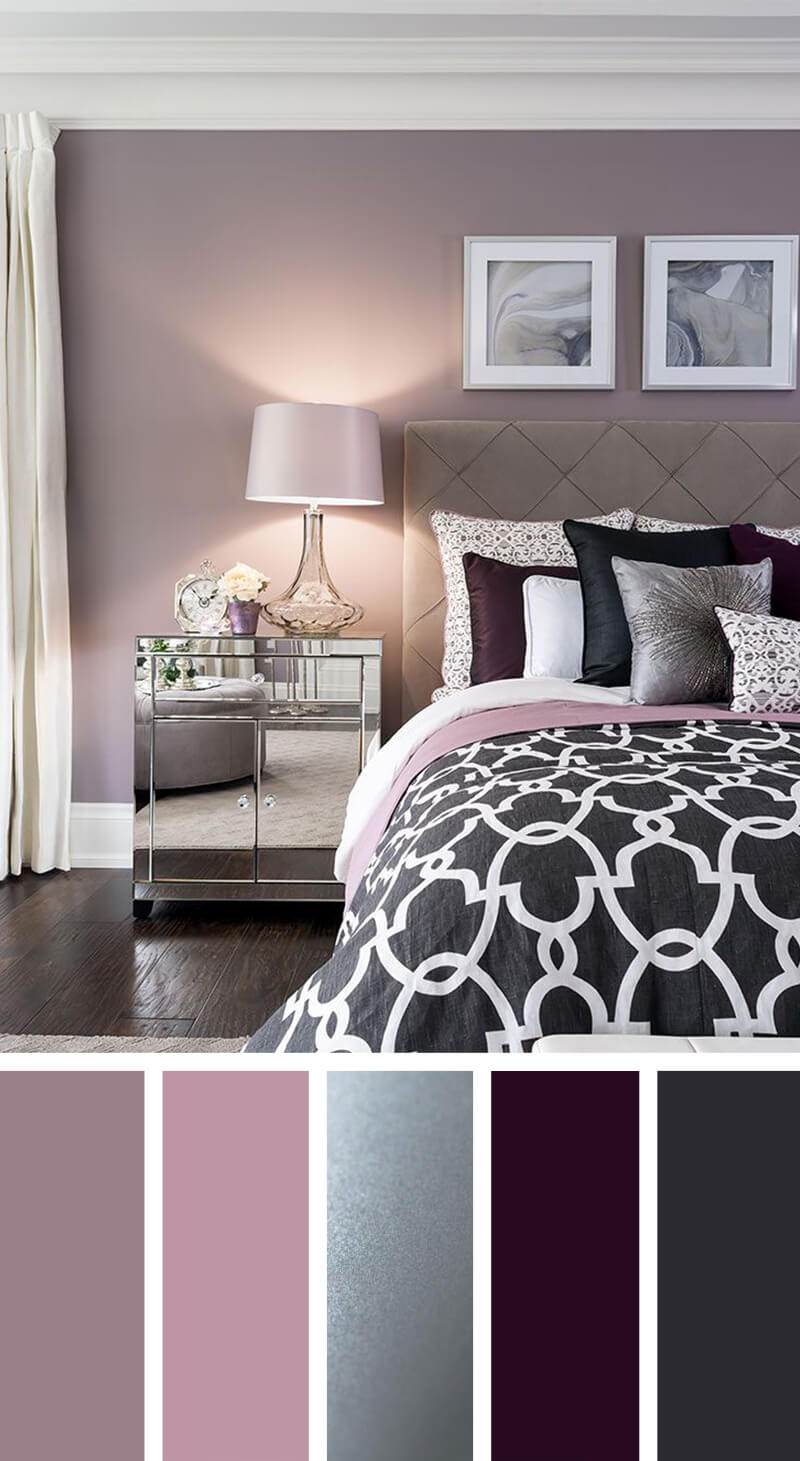 purple and pink bedroom ideas