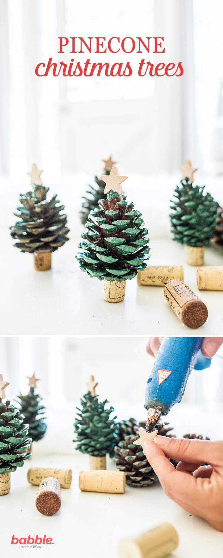Pinecone Forest Of Mini Christmas Trees