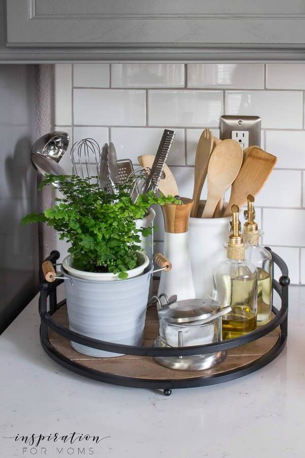 23 Best Clutter Free Kitchen Countertop Ideas And Designs For 2019