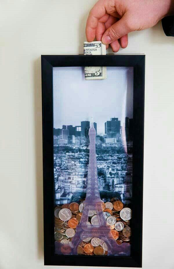 Foreign Currency Shadow Box