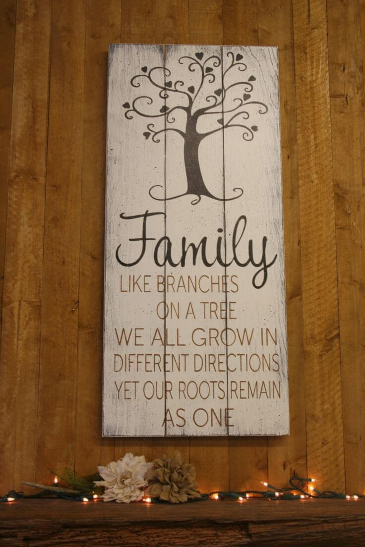 26 Best Rustic Wood Sign Ideas And Designs With