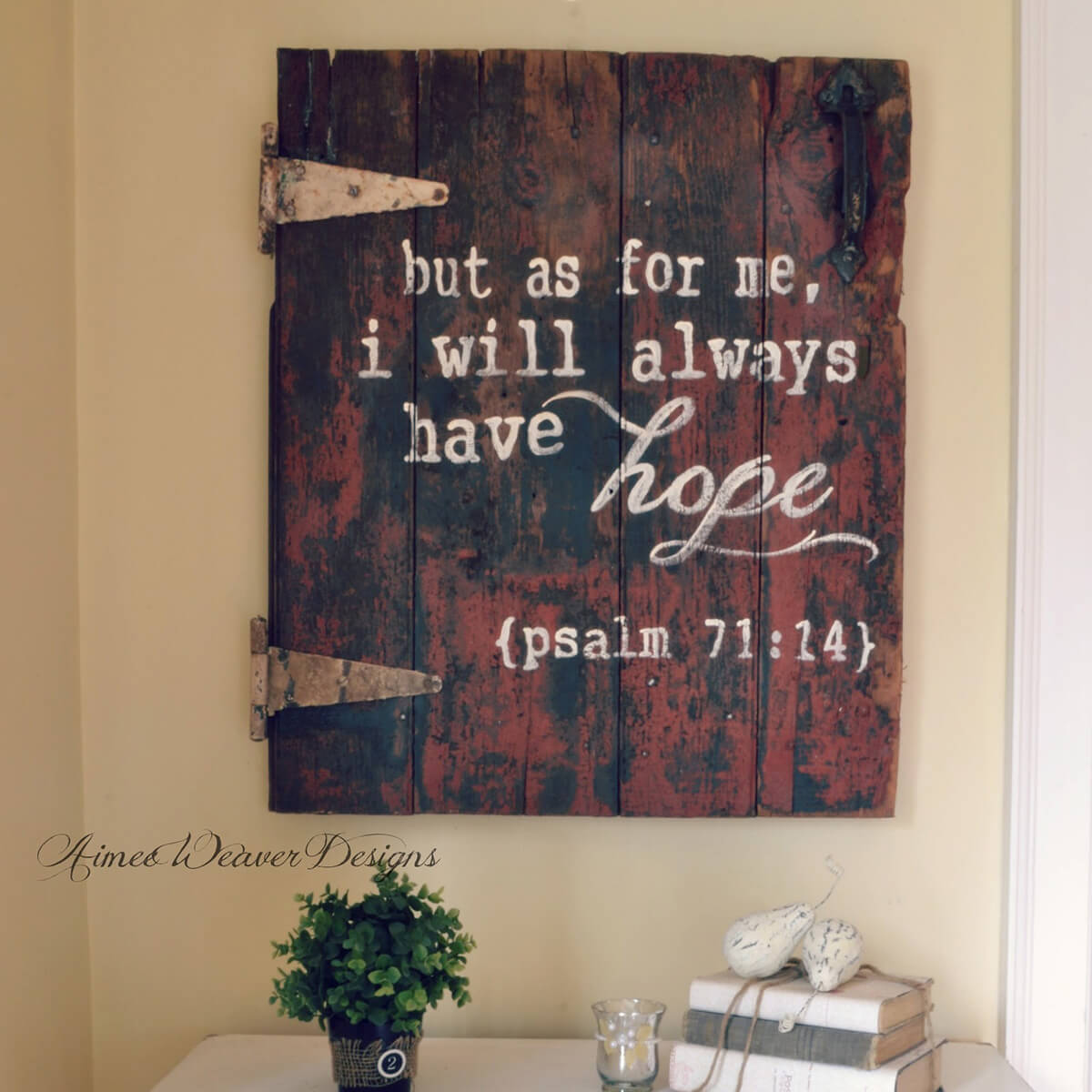 16 wall hanging barn door bible verse - Wood Sign Design Ideas