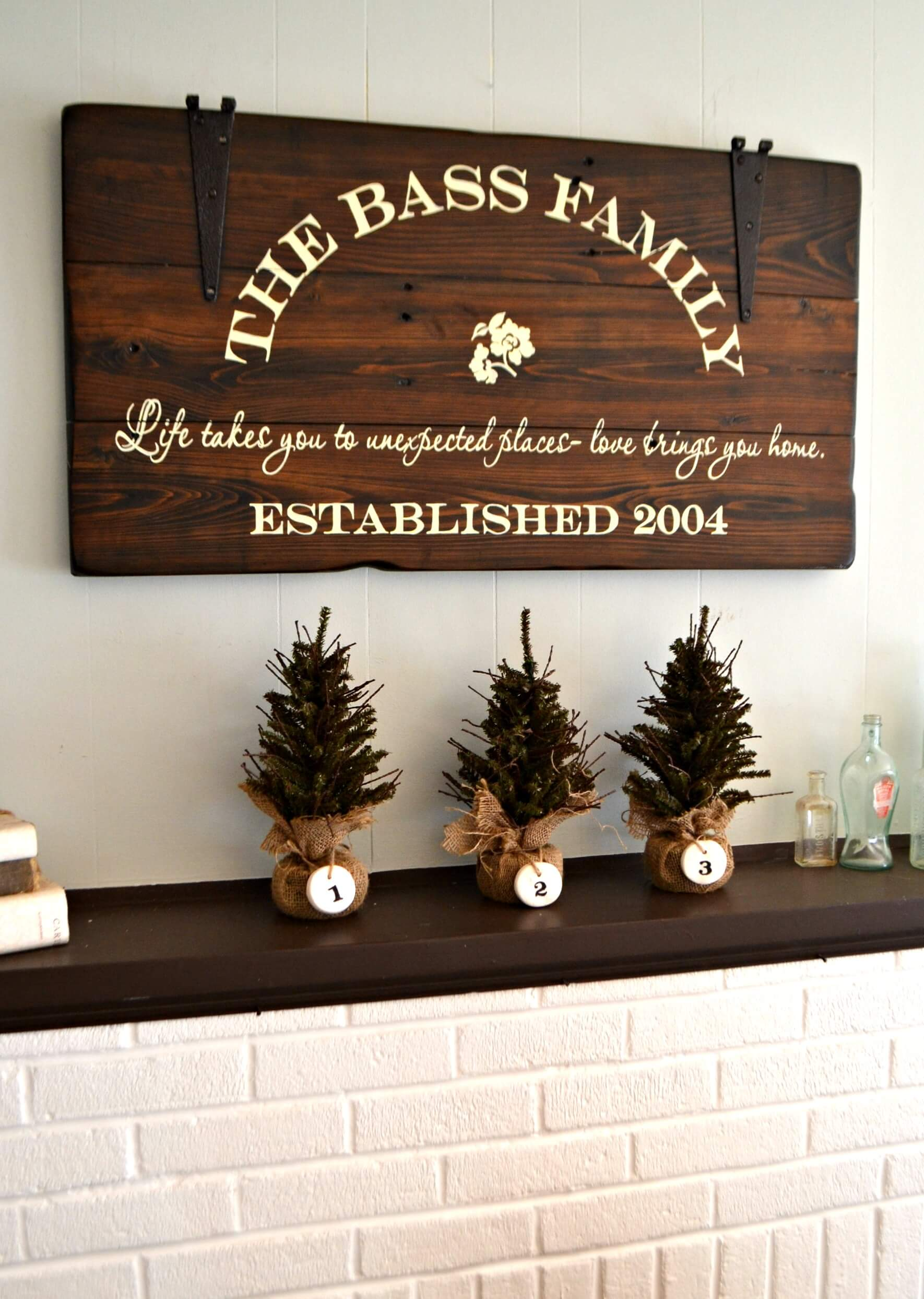 26 Best Rustic Wood Sign Ideas and Designs with Inspirational ...