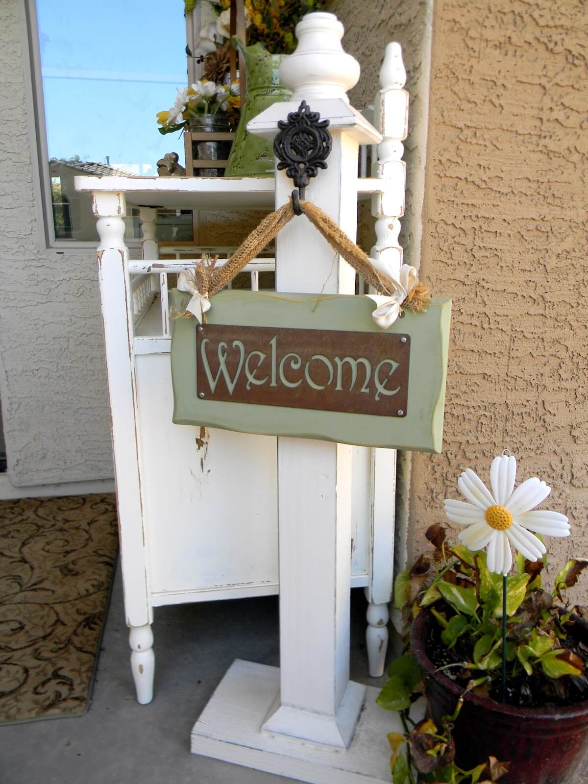 24 Best Front Porch Welcome Post Ideas And Designs For 2018