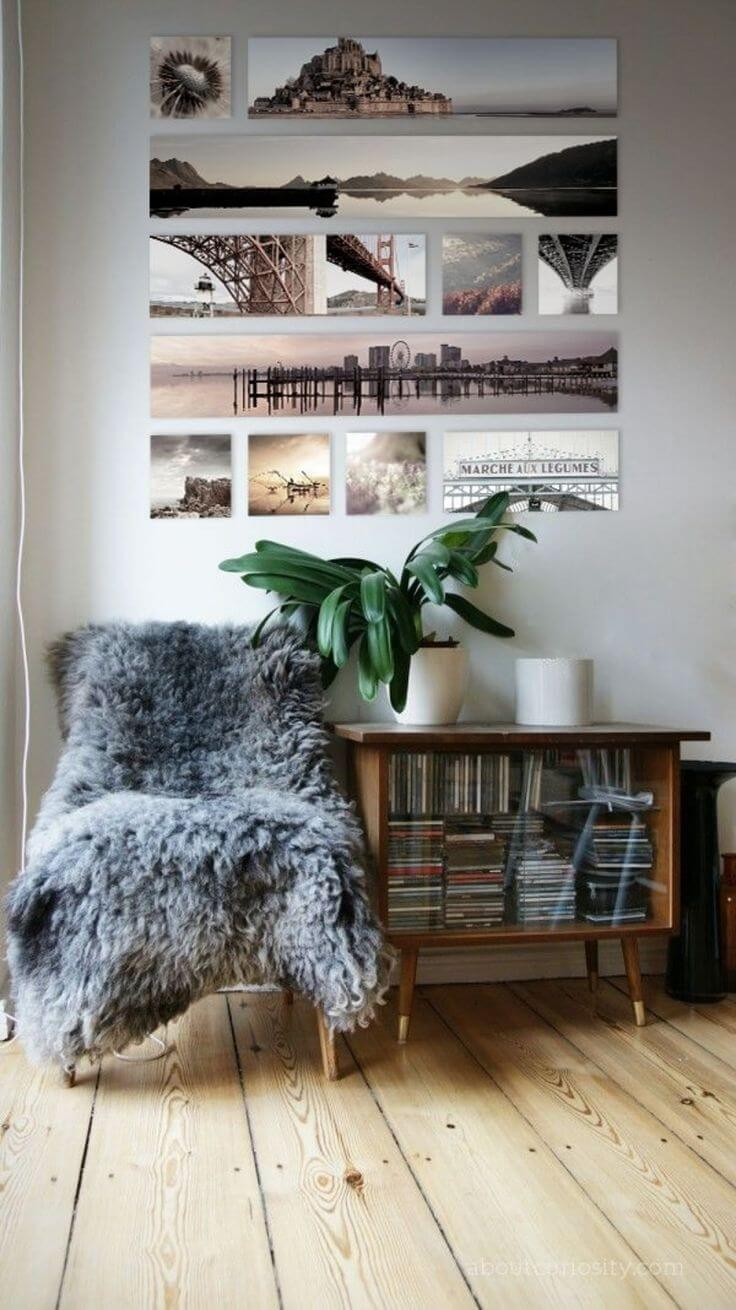 Chic Canvas Photo Gallery Wall