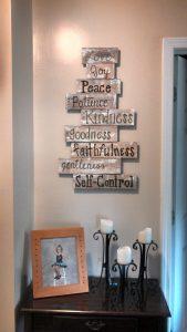 The Fruit Of The Spirit Decoration Homebnc