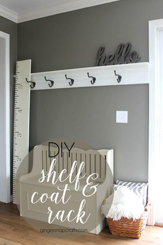 Easy, Elegant Coat Rack Ideas