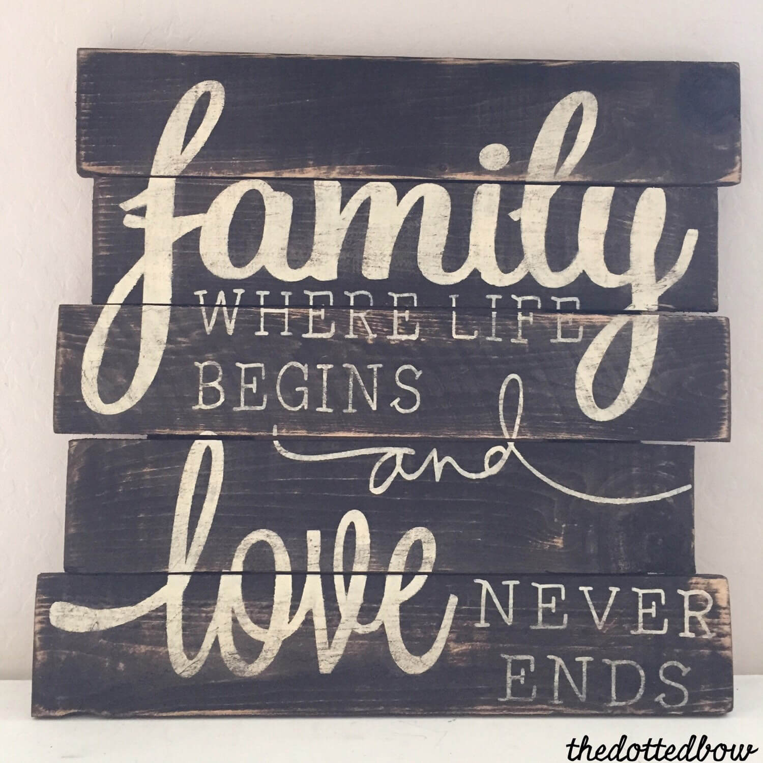 Rustic Reminder Of Family Love Homebnc