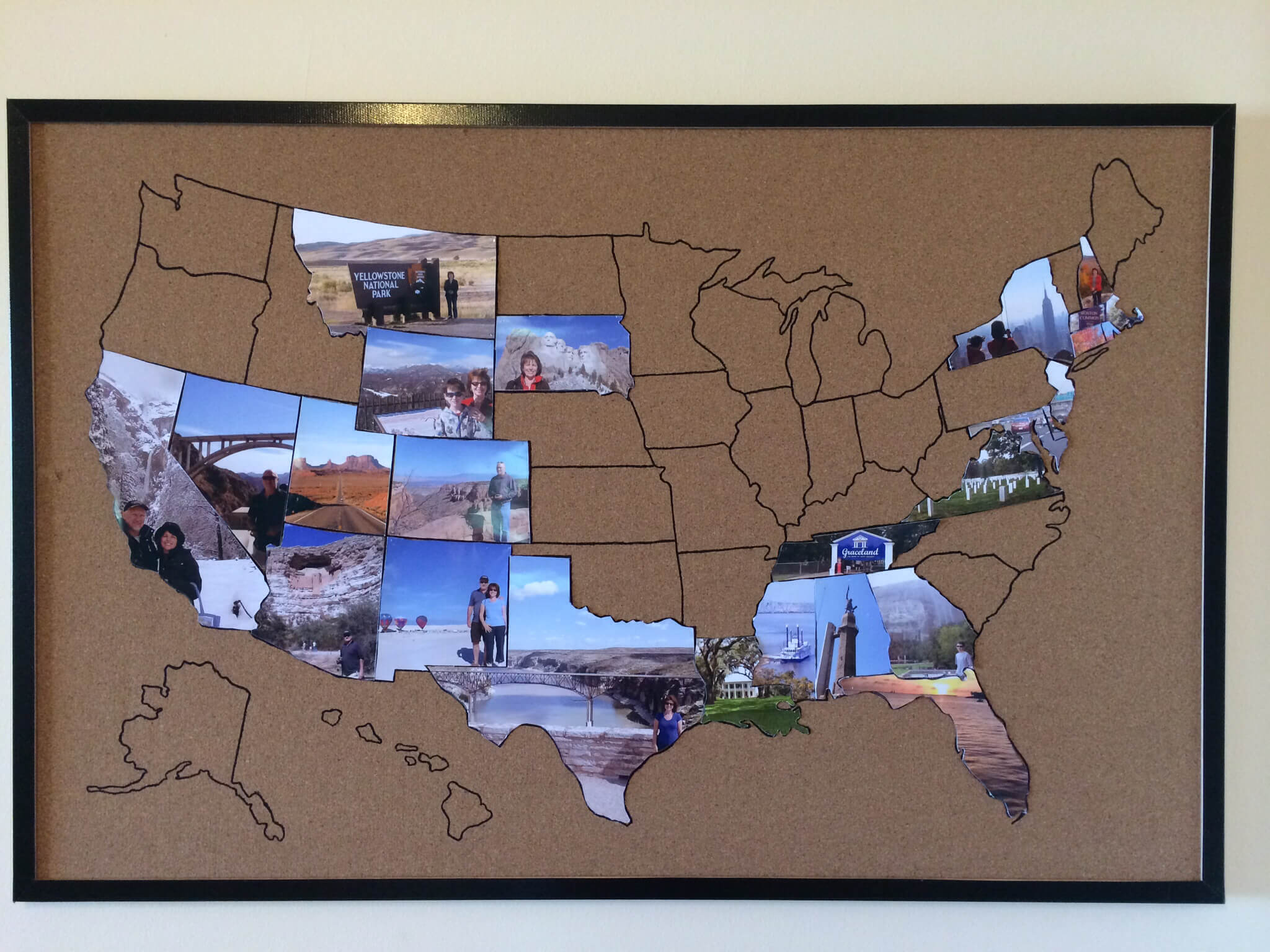 State Photo USA Map