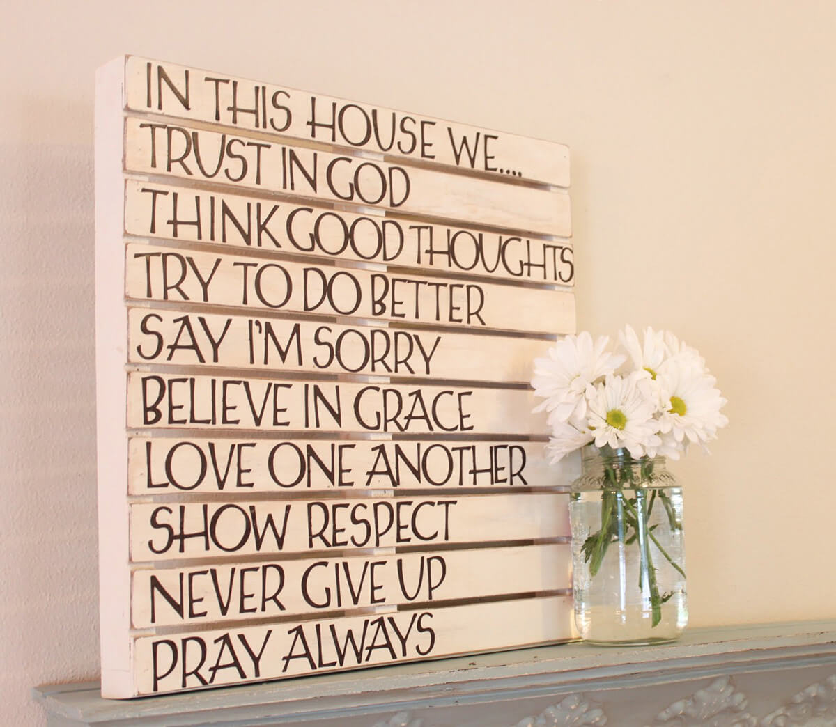 The 9 Commandments of This House