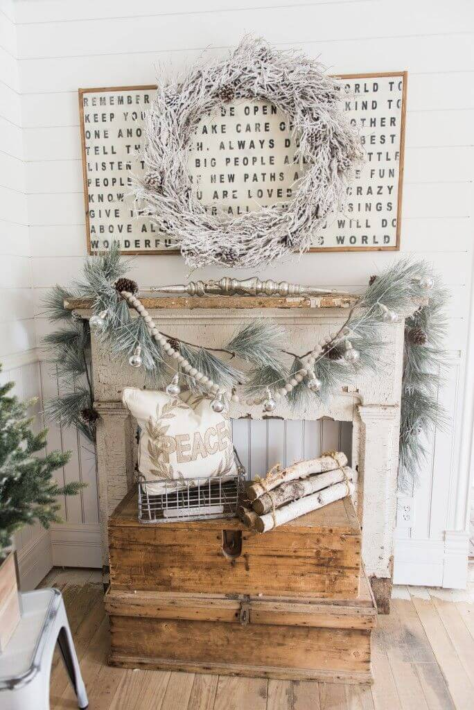Winter White and Silver Decor