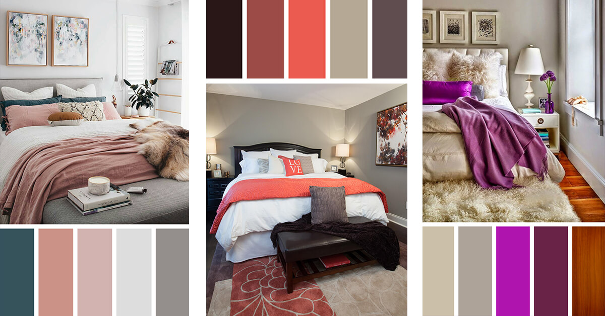 12 Gorgeous Bedroom Color Schemes That Will Give You Inspiration To Your Next Remodel