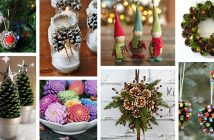DIY Pine Cone Crafts