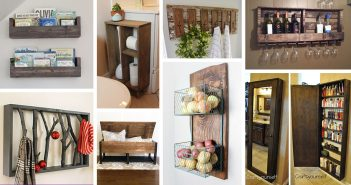 DIY Rustic Storage Projects