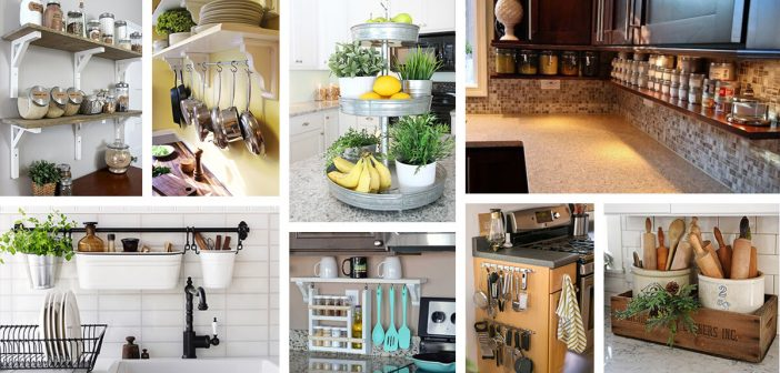 23 Best Clutter Free Kitchen Countertop Ideas And Designs For 2018