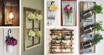 Mason Jar Wall Decor Ideas