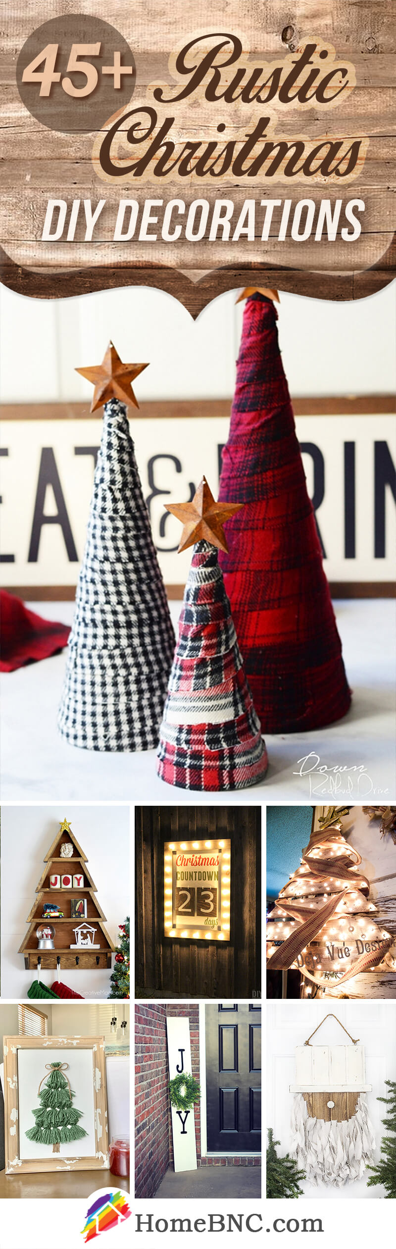 Rustic DIY Christmas Decoration Ideas