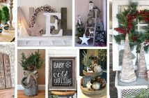 Rustic Farmhouse Christmas Decor Ideas