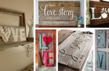 Rustic Love Wood Signs