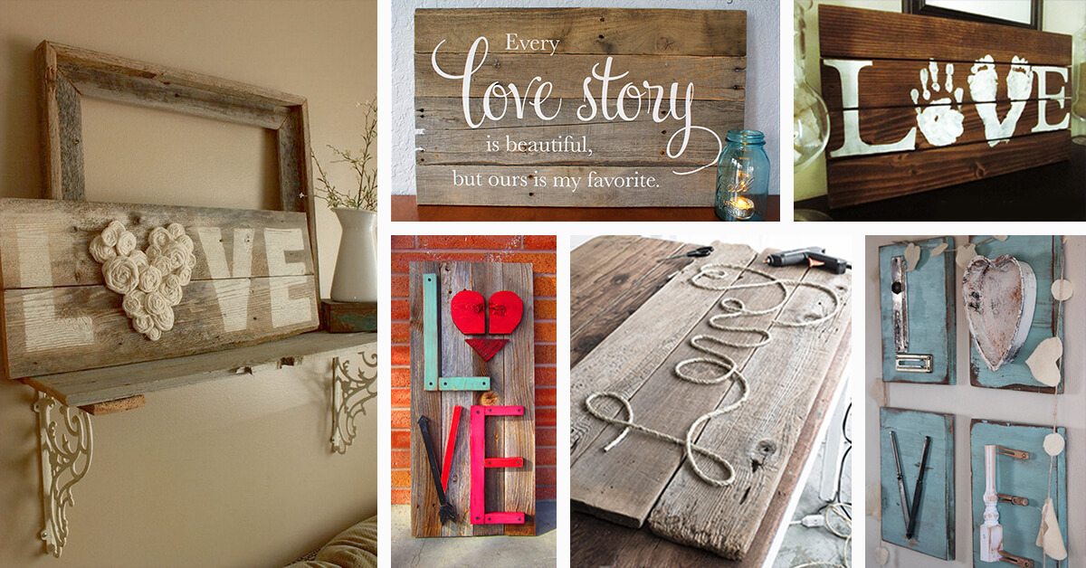 34 best love wood sign ideas and designs for 2018