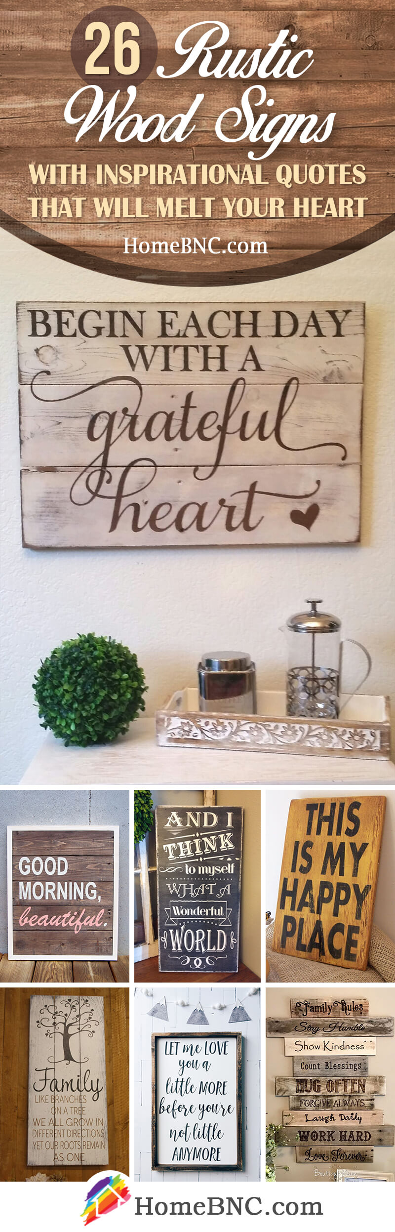 26 Best Rustic Wood Sign Ideas And Designs With Inspirational Quotes For 2020