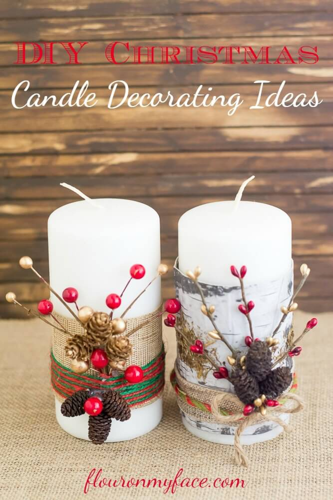 32 Best Decorated Candle Ideas and Designs for 2018