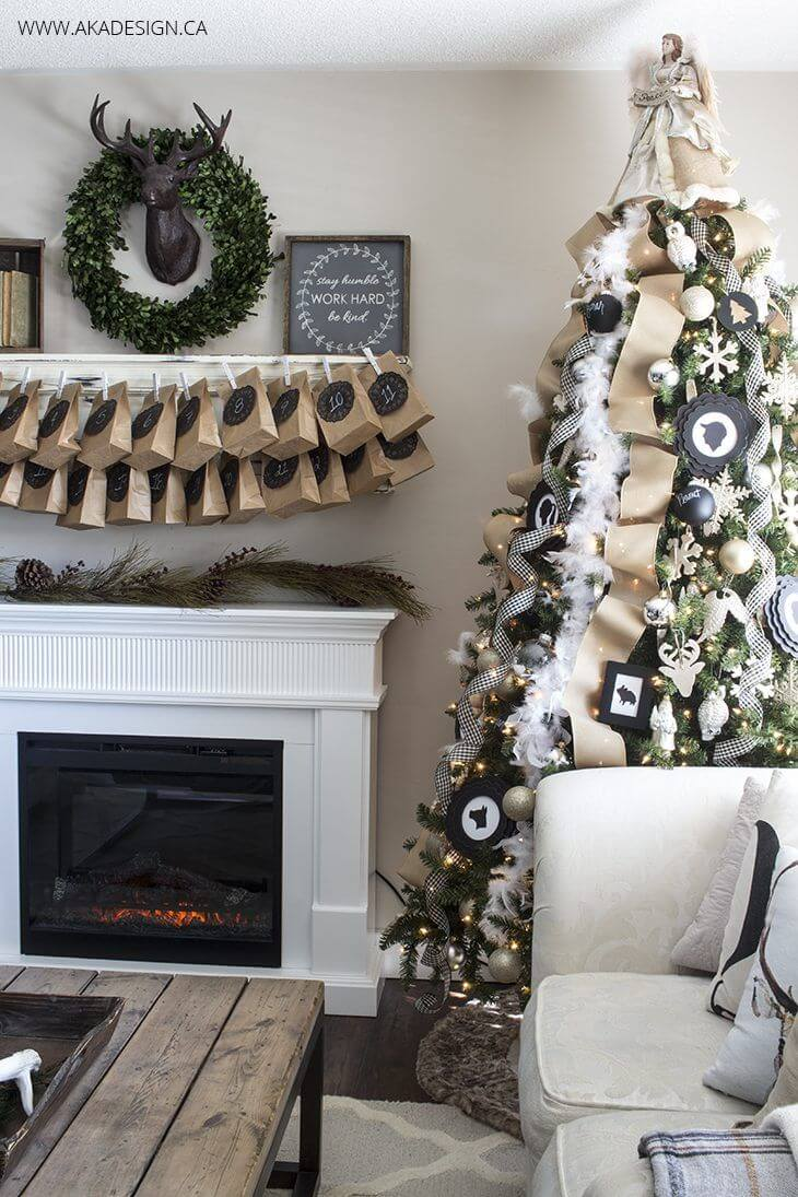 32 best christmas living room decor ideas and designs for 2019 - How to decorate living room for christmas ...