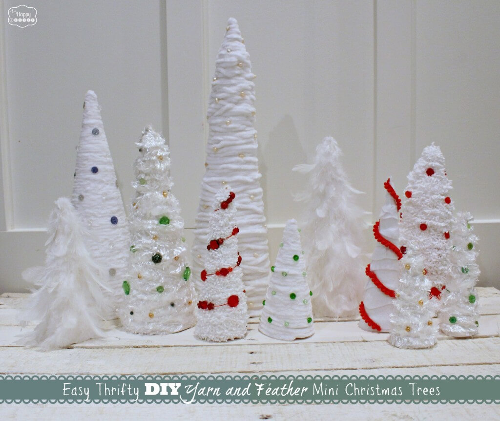 Easy 10-Cent DIY Christmas Trees