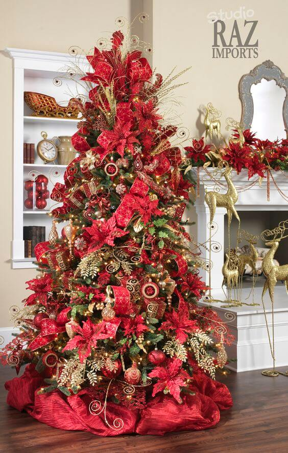 Ultra Glamorous Victorian Inspired Christmas Tree