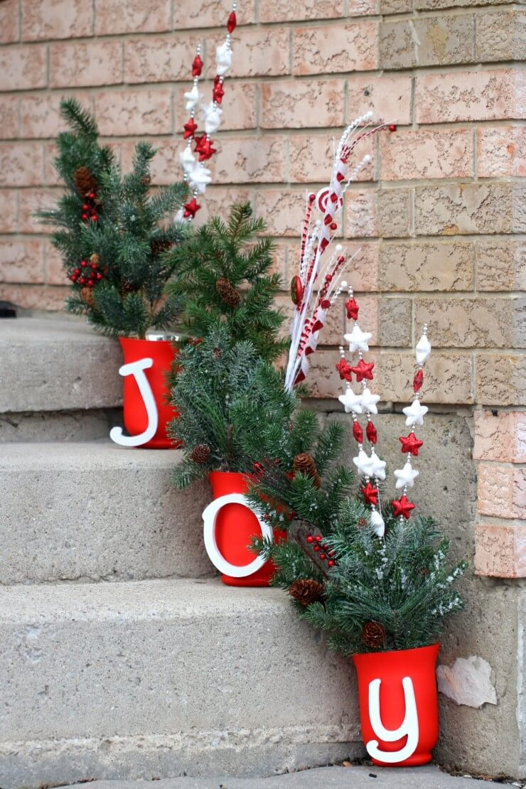 Tidings of Planters in Joy Holiday Decor