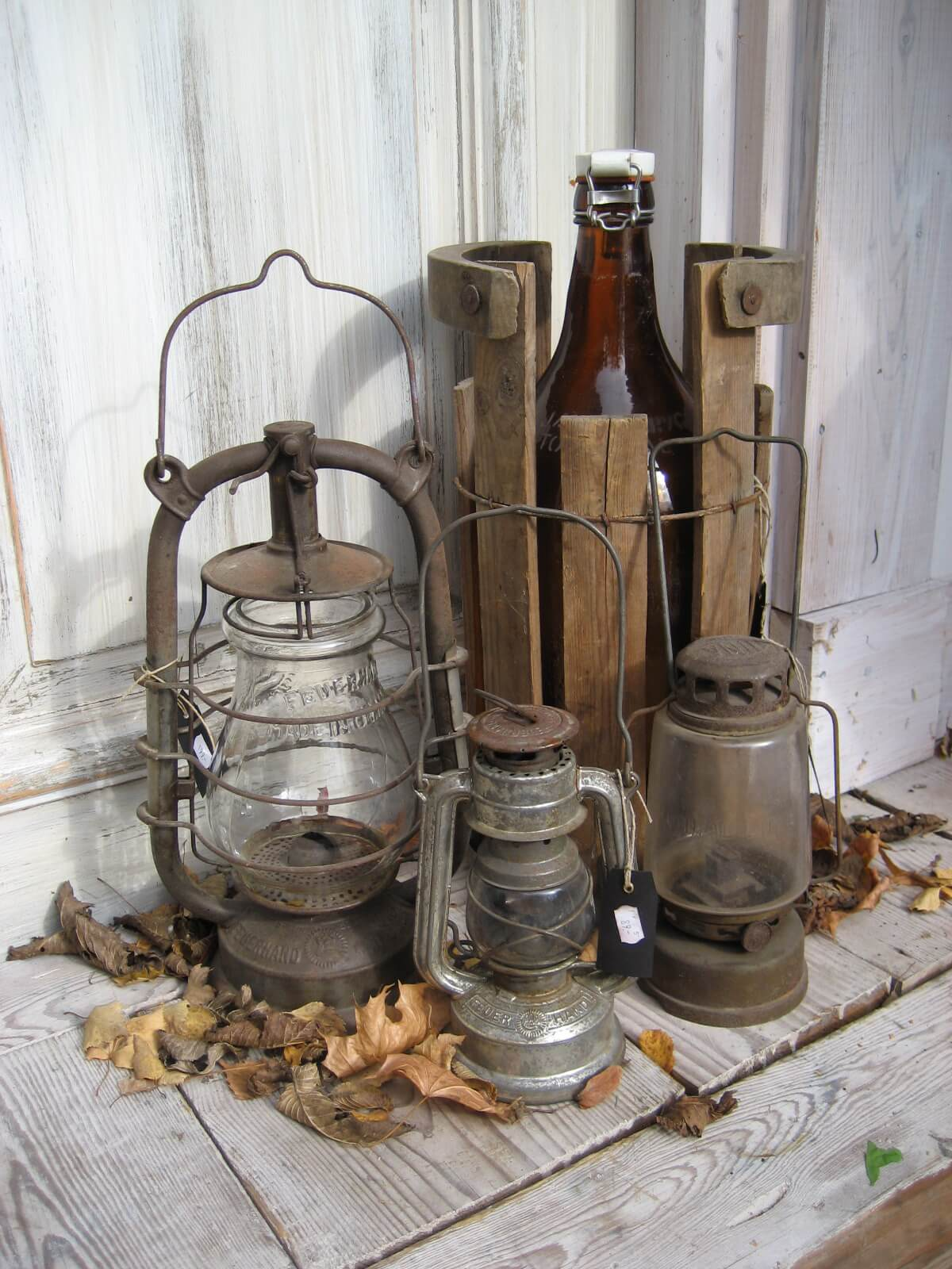 A Cluster of Rusty Lanterns