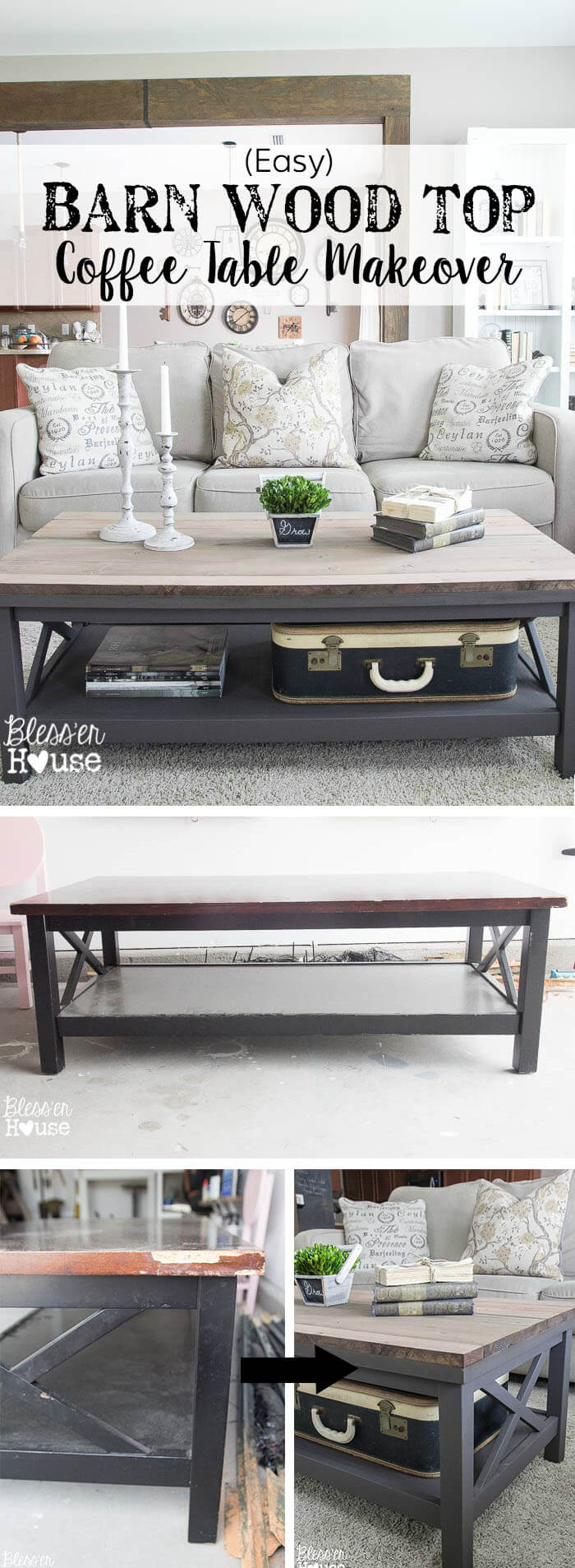 Transform Any Table with Barn Wood