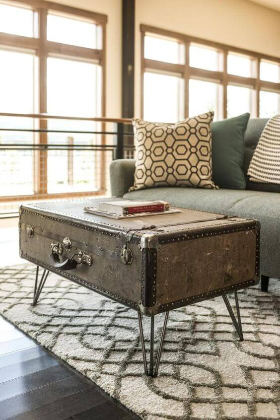 Upcycled Suitcase from Your Travels