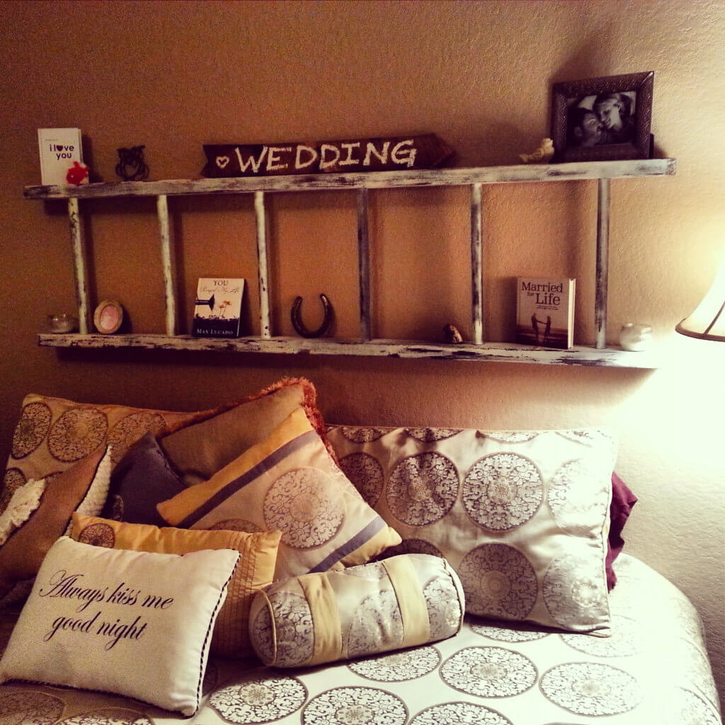 Sweet Over-the-Bed Country Keepsake Shelf