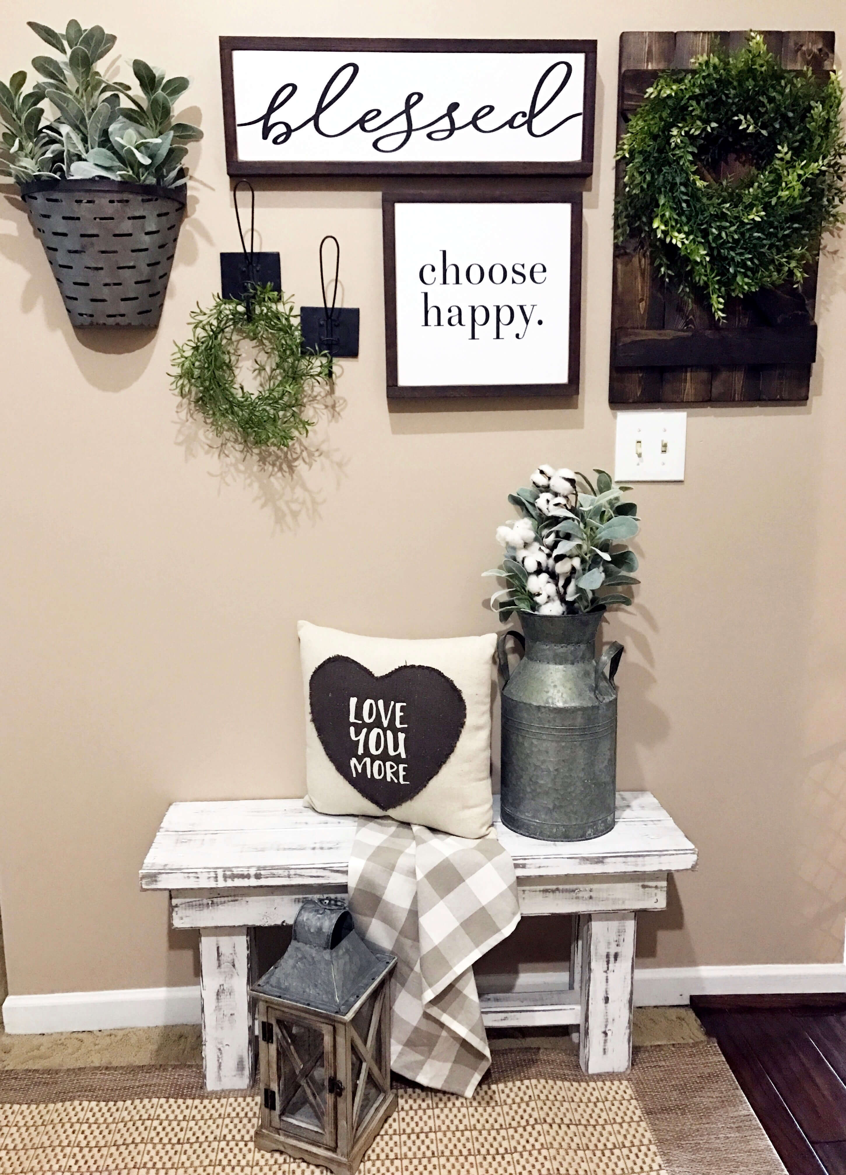 45 Best Farmhouse Wall Decor Ideas And Designs For 2021