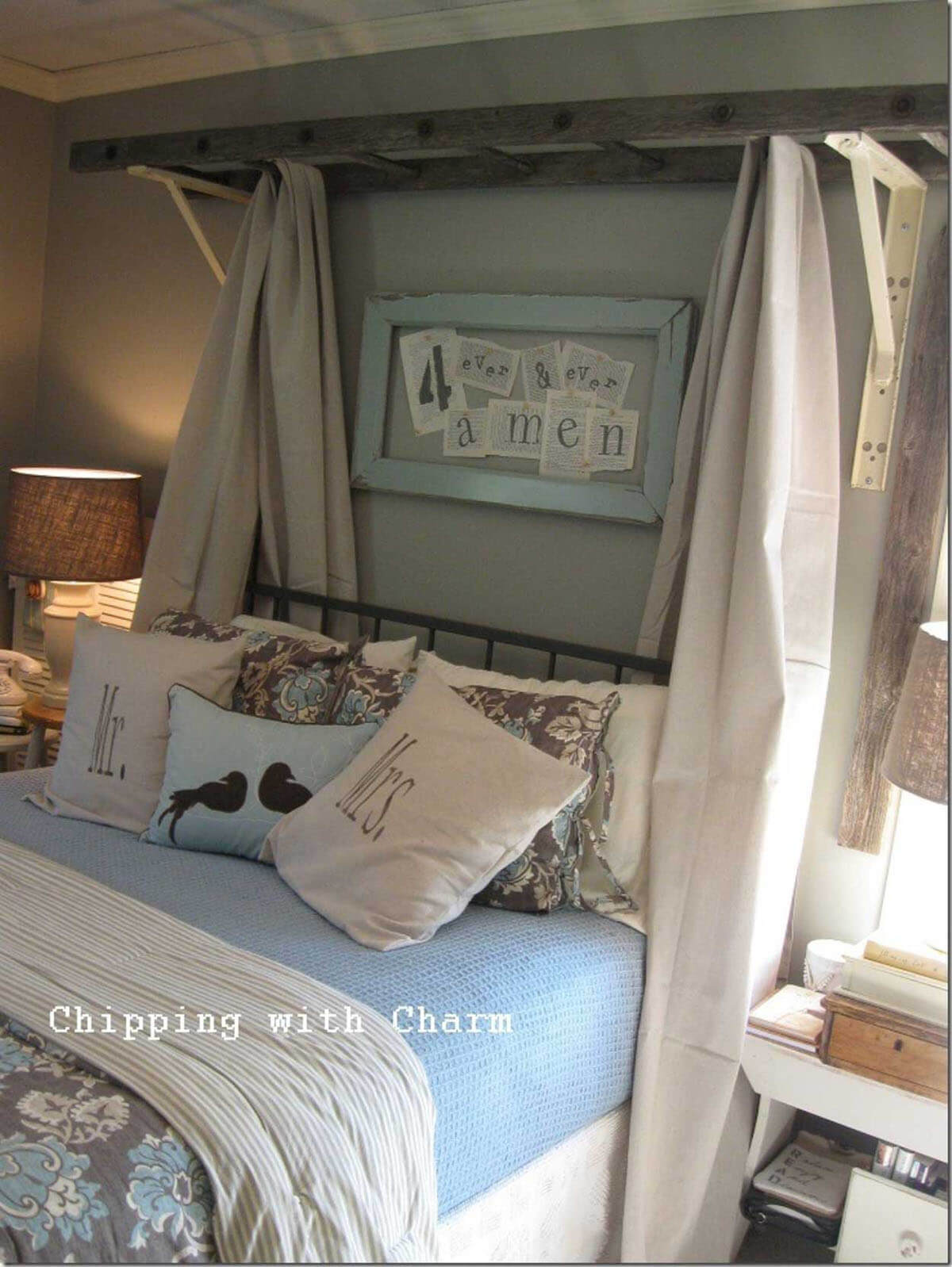 The Most Unexpected Canopy Bed Idea