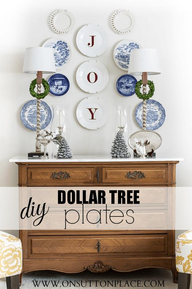 Joyful Dollar Plate Wall Art