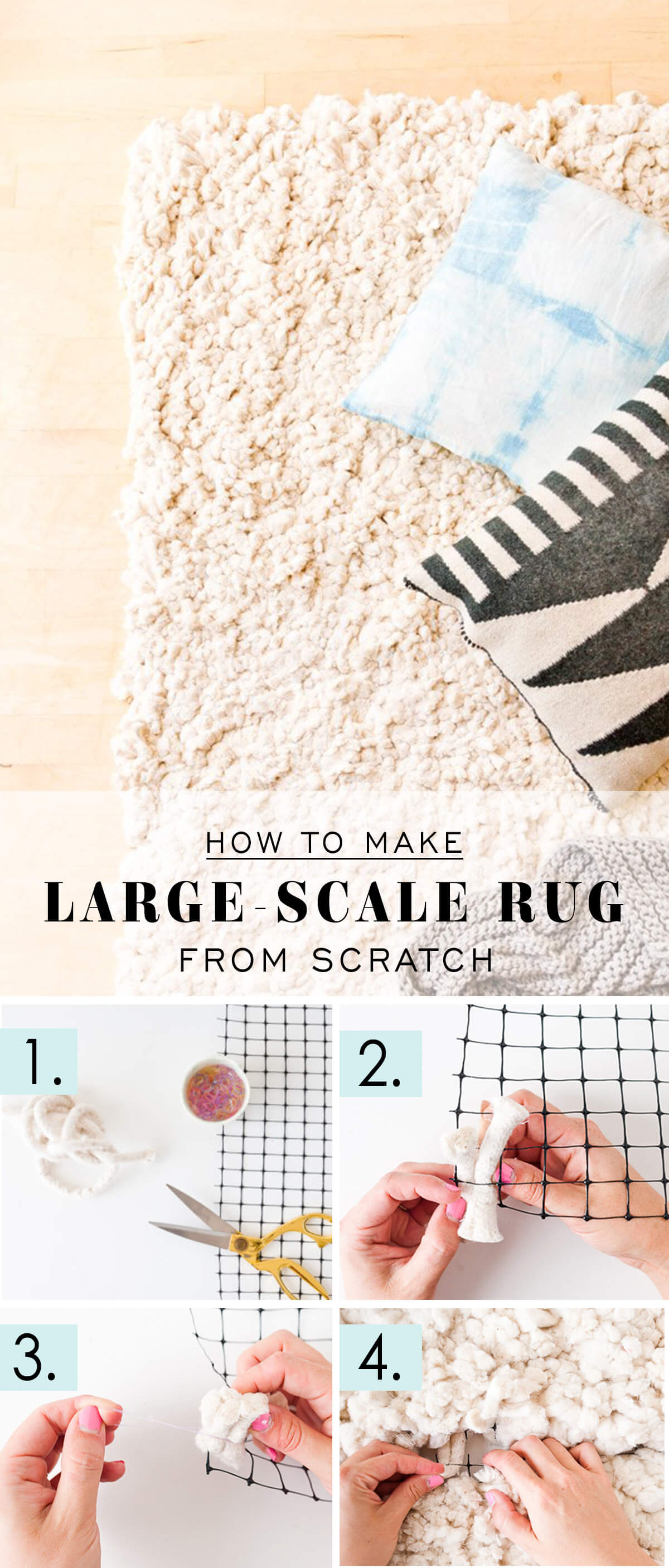 Make Your Own Room-Size Rug