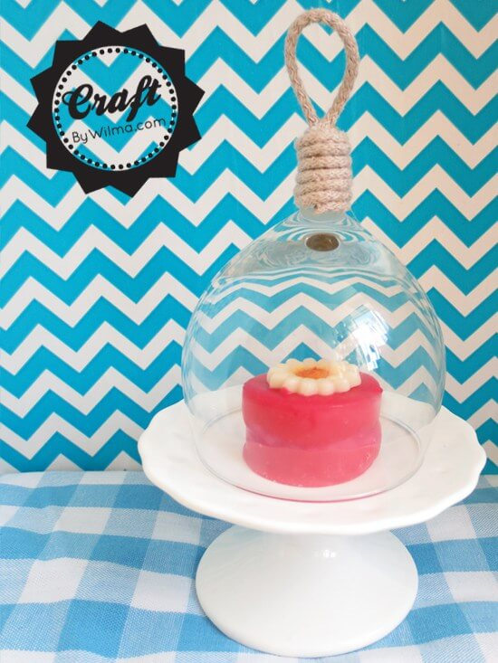 Mini Bell Jar From Wine Glass