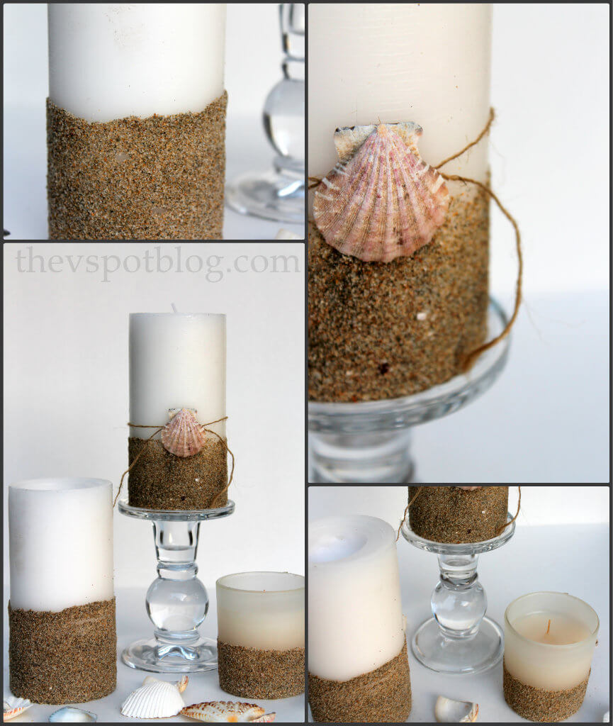 Using Sand for Dimension and Decor