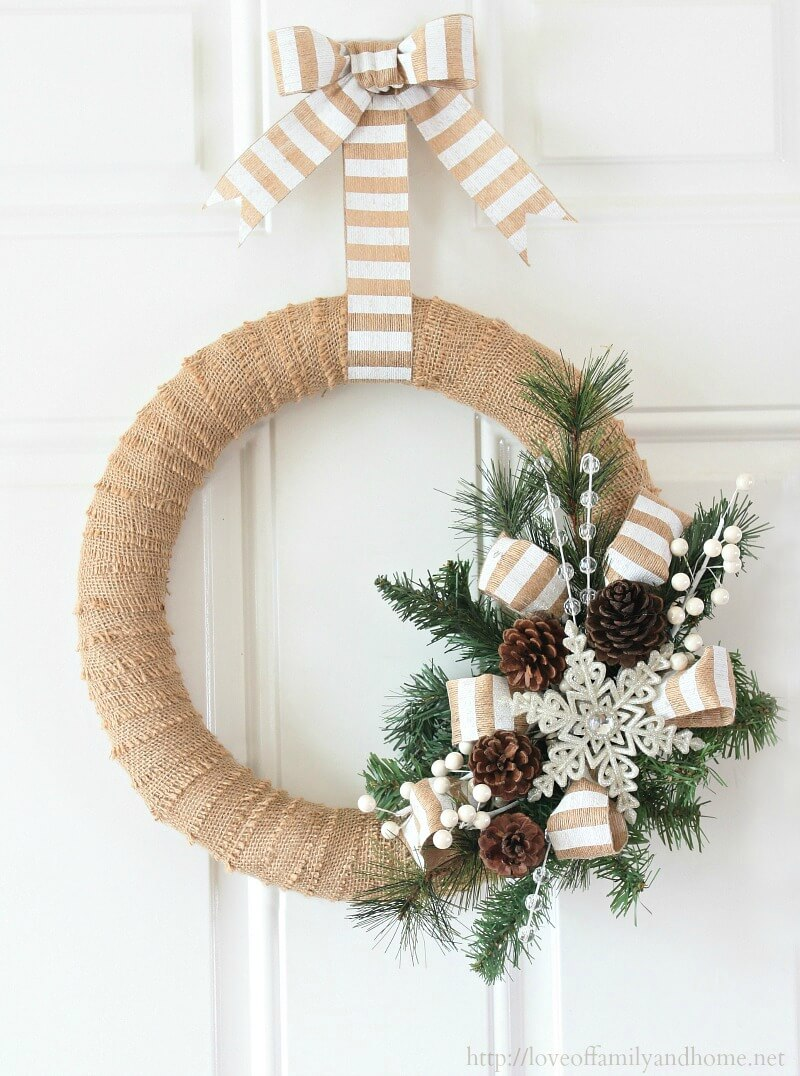Rustic Christmas Wreath Diy.36 Best Christmas Wreath Ideas And Designs For 2019