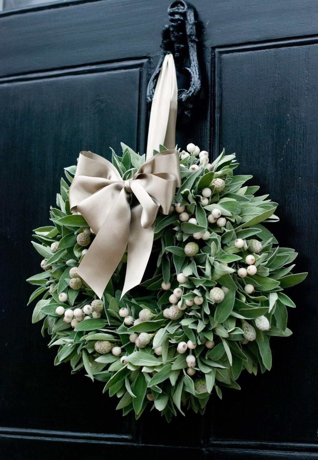 36 Weihnachtskranz Ideen, die Ihre Tür für die Feiertage bezaubernd und einzigartig machen