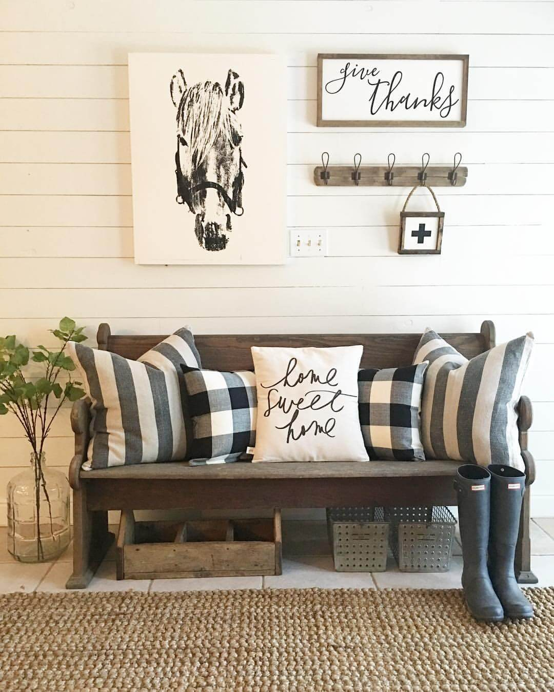 50+ Best Farmhouse Furniture and Decor Ideas and Designs for 2018
