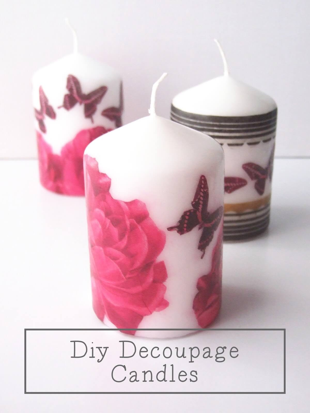 Decoupage Your One-of-a-Kind Design