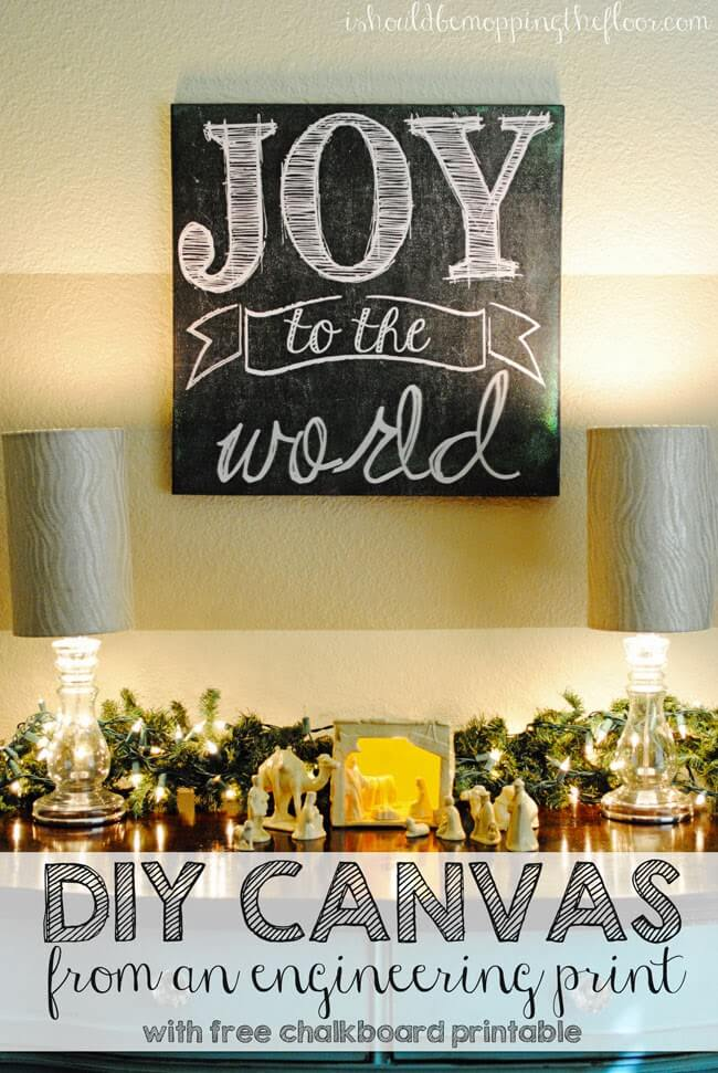 35 Best Christmas Wall Decor Ideas and Designs for 2018